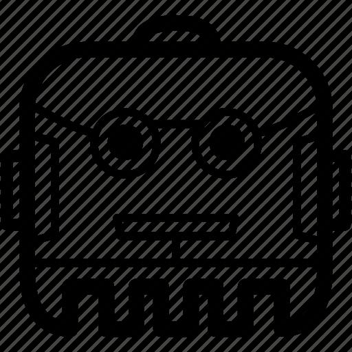 automation, avatar, bot, chatbot, profile, robot, tech icon