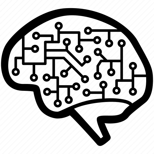 brain, engineering, intelligence, neuroscience, scientific, technology icon