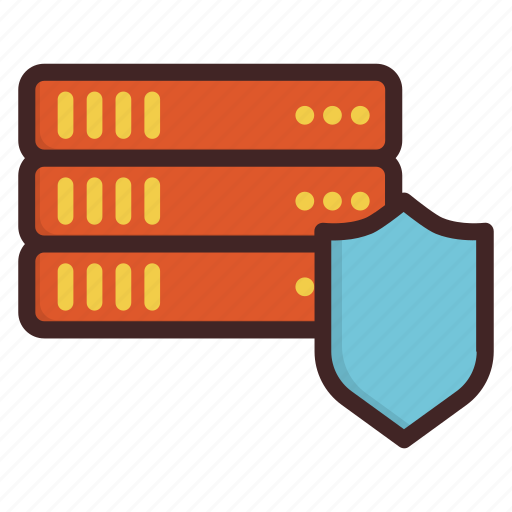 cloud, data, database, file, protection, security, storage icon