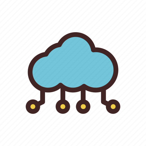 cloud, data, document, server, storage, weather icon