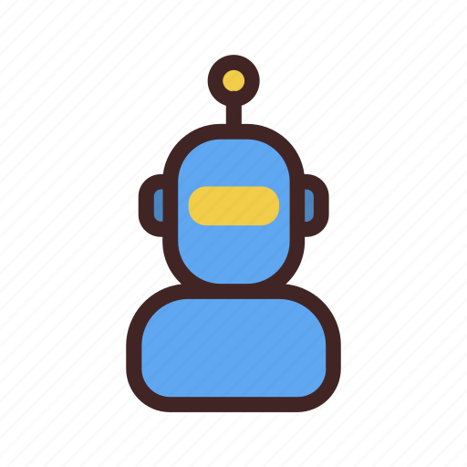 android, artificial intelligence, cyborg, machine, robot icon