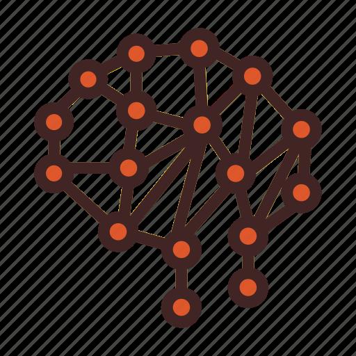 artificia intelegence, atom, brain, experiment, lab, science icon