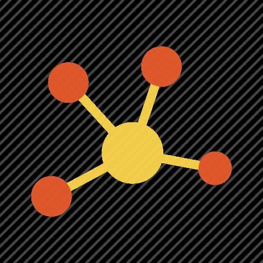 atom, chemistry, lab, molecule, science, technology icon
