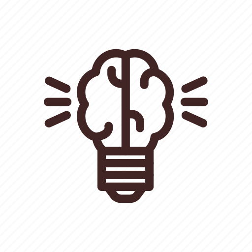 artificial, bulb, electric, electricity, intelegence, light icon