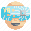 vr, glasses, virtual, reality, goggles, technology