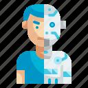humanoid, futuristic, cyborg, robot, technology