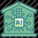 smart, home, domotics, futuristic, house, electronics