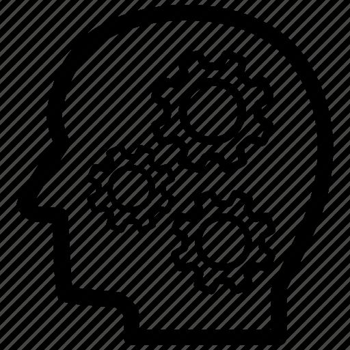 analysis, analytics, data, intelligent, knowledge, smart, thinking icon