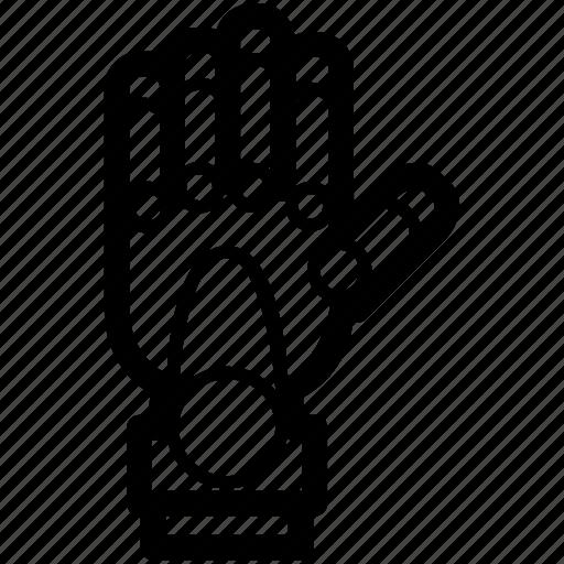 arm, hand, mechanical, robot, robotic, technology icon