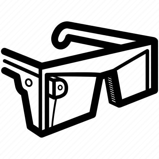 glasses, optical, smart, tech, technology, vision, wearable icon