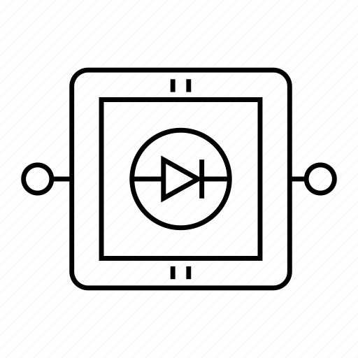 device, electronic, process, transistor icon