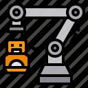 artificial, future, machine, rocotic, technology icon