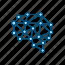 artificial, intelligence, ai, brain, network