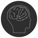 artificial, brain, intelligence icon