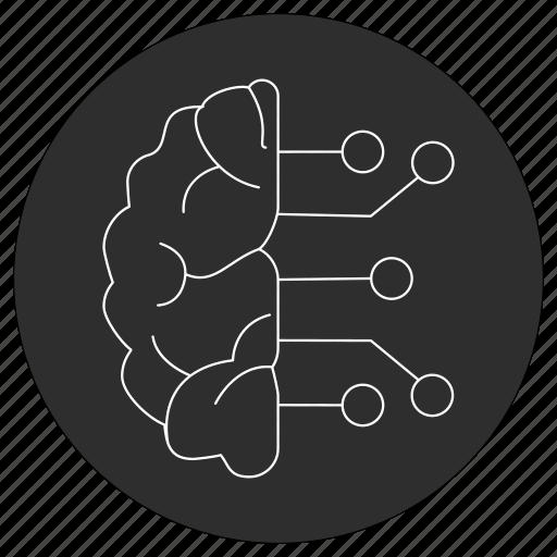 artificial, brain, ic, intelligence icon