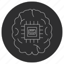 artificial, breaker, ic, intelligence icon