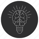 artificial, brain, idea, intelligence icon