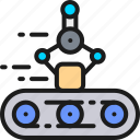 arm, belt, conveyor, intelligence, mechanical, package, robot