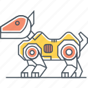pet, pet robot, robot, robot dog, robotic, robotic dog icon