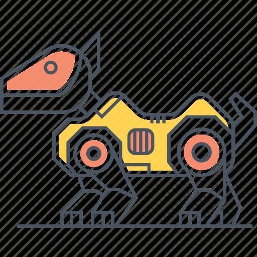 pet, pet robot, robot, robot dog, robotic, robotic dog icon