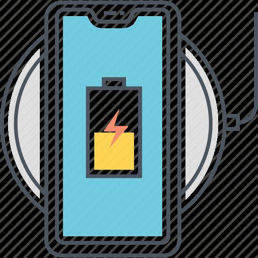 charging, charging hub, charging port, wireless, wireless charging icon