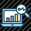 ai, artificial intelligence, monitoring, predictive analysis, report icon
