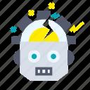 artificial, crash, intelligence, machine, robotic, technology