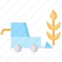 agriculture, ai, artififcial intelligence, crop harvesting, smart farm icon