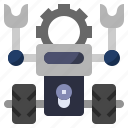 artificial, automaton, futuristic, intelligence, process, robot, robotic