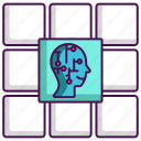 application, artificial intelligence, interface icon