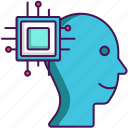 artificial intelligence, computational, intelligence icon