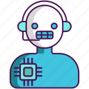artificial intelligence, assistant, intelliigent icon