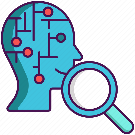 artificial intelligence, learning, unsupervised icon
