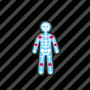 arthritis, body, human, inflammation, joints icon