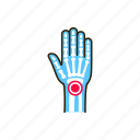 arthritis, body, hand, human, inflammation, joints icon
