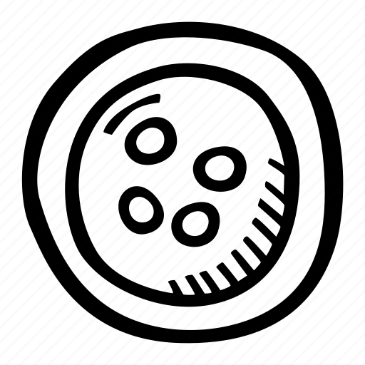 art, arts and crafts, craft, doodle, four hole button, hobby icon
