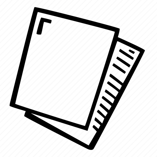 art, arts and crafts, craft, doodle, hobby, paper, sheets icon