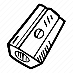 art, arts and crafts, craft, doodle, hobby, pencil, sharpener icon