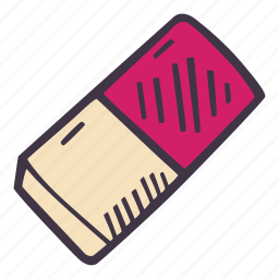 art, arts and crafts, craft, doodle, eraser, hobby icon