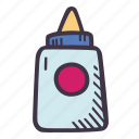 art, arts and crafts, craft, doodle, glue, hobby icon
