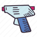 art, arts and crafts, craft, doodle, glue, gun, hobby icon