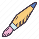 art, arts and crafts, brush, craft, doodle, hobby, paint icon