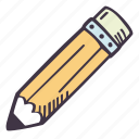 art, arts and crafts, craft, doodle, hobby, pencil icon