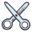 art, arts and crafts, craft, doodle, hobby, scissors icon