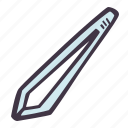 art, arts and crafts, craft, doodle, hobby, tweezers icon