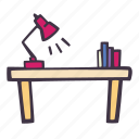 art, arts and crafts, craft, desk, doodle, hobby, working icon