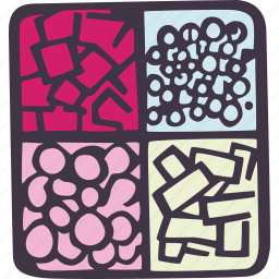 art, arts and crafts, bead, box, craft, doodle, hobby icon