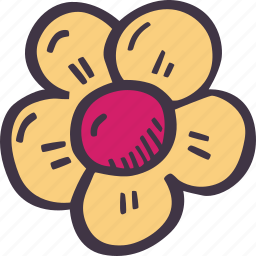 art, arts and crafts, craft, doodle, flower, hobby icon
