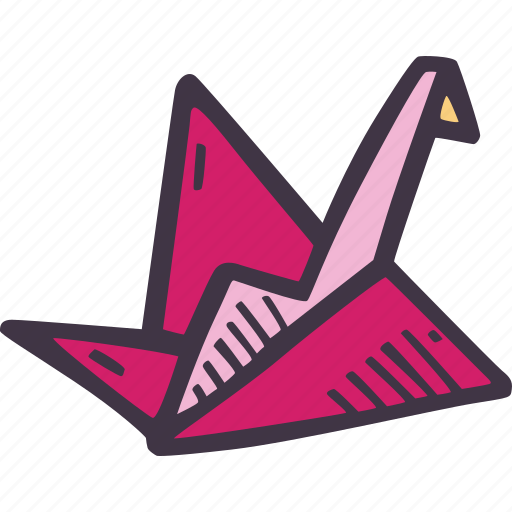 art, arts and crafts, craft, doodle, hobby, origami icon
