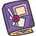art, arts and crafts, craft, doodle, hobby, scrapbook icon